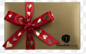 Valentine's Day Present - Ribbon Gift Valentine's Day PNG