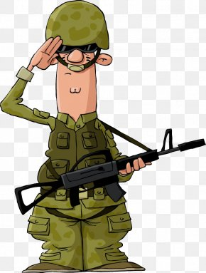 Soldier - Soldier Cartoon Military Clip Art PNG