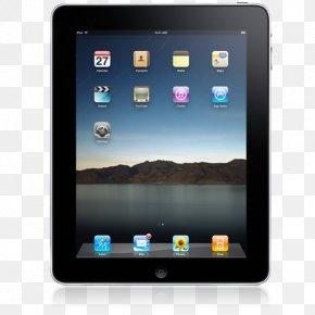 IPad Front Straight On - Electronic Device Gadget Multimedia Mobile Device PNG