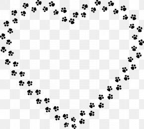 Cat Footprints - Dog Cat Paw Clip Art PNG