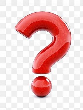 Number Symbol - Red Material Property Font Symbol Number PNG