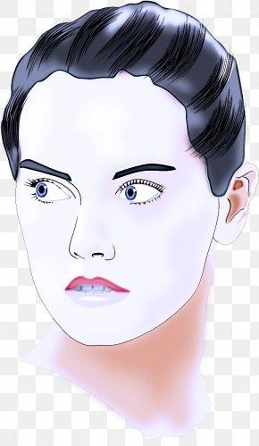 Head Lip - Face Hair Eyebrow Skin Forehead PNG