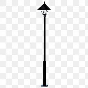 Light Post - Light Fixture Solar Street Light Solar Lamp PNG