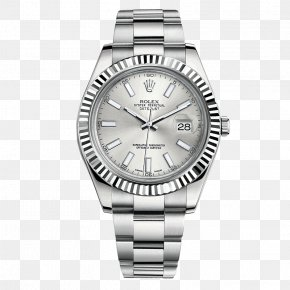 Rolex Watches Silver Watch Male Table - Rolex Datejust Automatic Watch Dial PNG