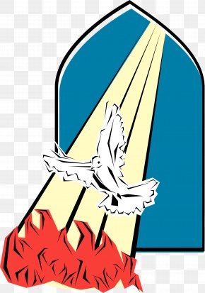 The Spirit Of Cooperation And Assistance Between T - Pentecost Holy Spirit Clip Art PNG