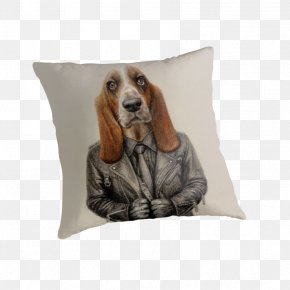 Basset Hound - Dog Breed Throw Pillows Cushion PNG