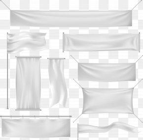 Background Banner Vector - Banner Euclidean Vector Silk PNG