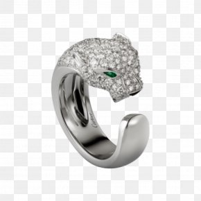Platinum Ring - Ring Cartier Jewellery Colored Gold Diamond PNG