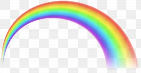 Transparent Rainbow Free Clip Art - Rainbow Sky PNG
