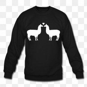 T-shirt - T-shirt Hoodie Llama Crew Neck Sweater PNG