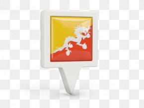 Bhutan Ornament - Flag Of Bhutan Product Design Rectangle PNG