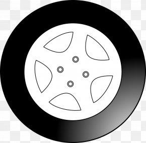 Car Tire - Car Wheel Clip Art PNG