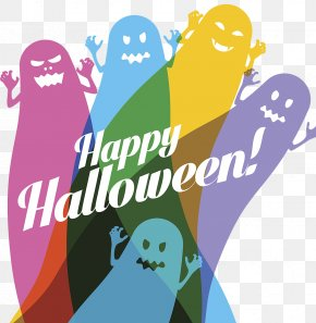 Happy Halloween Ghost Pictures - Halloween Jack-o-lantern Illustration PNG