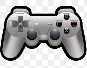 Gamer Cliparts - PlayStation 4 PlayStation 3 Game Controller Clip Art PNG