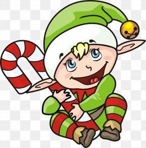 Elf Transparent Background - Santa Claus Christmas Elf PNG
