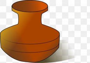 Seramik Vazo - Clip Art Openclipart Flowerpot Free Content Crock PNG