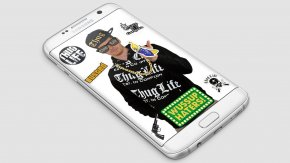 Thug Life - IPhone Portable Communications Device Smartphone Android PNG