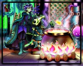 Enchantress - Shovel Knight DeviantArt Fan Art PNG