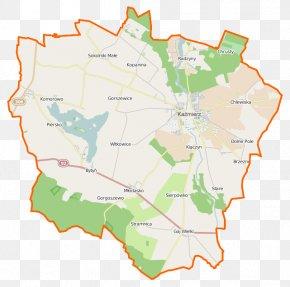Map - Kaźmierz Jezioro Bytyńskie Bytyń, Greater Poland Voivodeship Witkowice, Szamotuły County Młodasko PNG