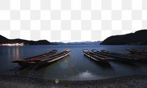 Lugu Lake Moonlight - Lugu Lake West Lake Daming Lake PNG