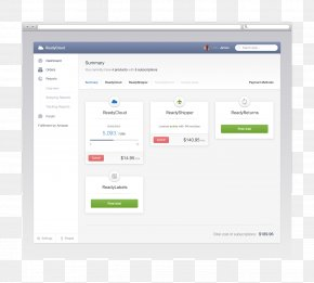 Summary - Computer Program User Interface Design Dashboard Computer Software PNG