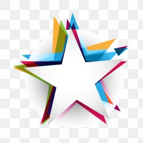 Abstract Colorful Free Downloads - Star Abstract Polygon PNG