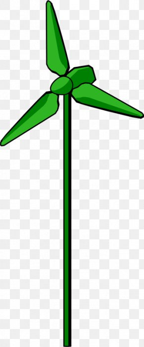 Energy And Environmental Protection - Wind Farm Wind Turbine Wind Power Clip Art PNG