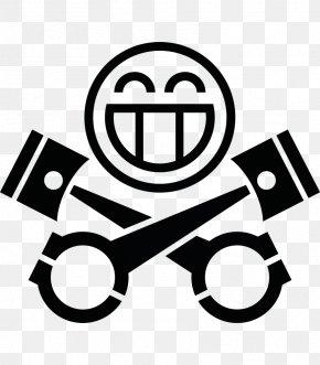 Piston Skull - Car PistonHeads Sticker Logo Automotive Industry PNG