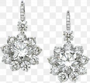 Earring - Earring Jewellery Diamond PNG