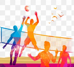 Volleyball Game Site - Volleyball Sport PNG