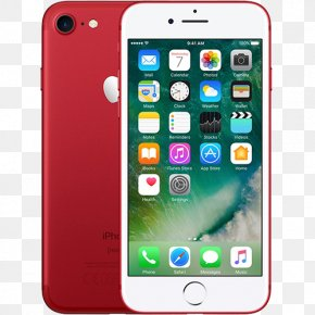 Black 128 GbIphone 7 Red - Apple IPhone 7 Plus Smartphone Apple Refurbished IPhone 7 32GB PNG