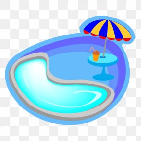 Swimming Vector - Swimming Pool Cartoon PNG