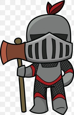 Knights Cliparts - Middle Ages Knight Cartoon Clip Art PNG