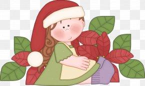 Santa Claus - Christmas Ornament Santa Claus Leaf Clip Art PNG