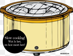 Barbecue - Slow Cookers Crock Olla Clip Art PNG