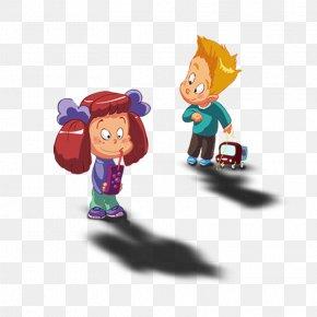 Child - Child Playground Slide Cartoon PNG