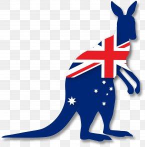 Kangaroo - Flag Of Australia Australian Federation Flag Australian Aboriginal Flag PNG
