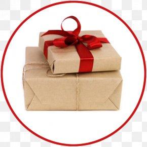 Kraft Paper - Kraft Paper Box Gift Christmas PNG
