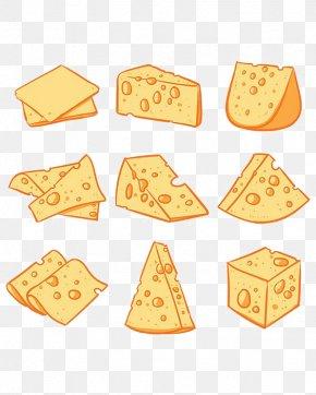 Cartoon Cheese - Milk Submarine Sandwich Cheese Food PNG
