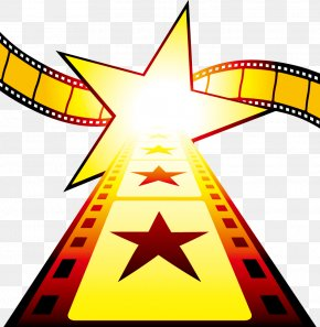 Creative Star Elements - Cinema Film Stock Photography Illustration PNG