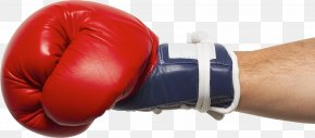 Boxing Glove - Man's Hand Boxing Glove PNG