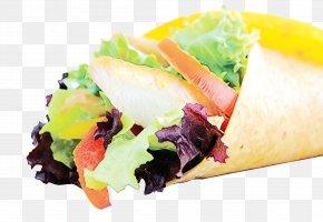 Side Dish Sandwich Wrap - Food Dish Cuisine Ingredient Junk Food PNG