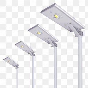 Light - Light Fixture LED Street Light Solar Power Photovoltaic System PNG