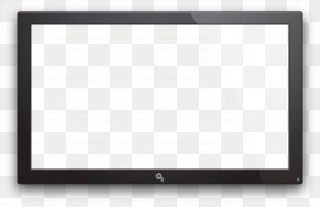 Old Tv Image - Square Chessboard Area Black And White Pattern PNG