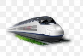 Train - Train High-speed Rail Rail Transport PNG