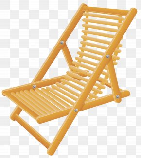 Wooden Beach Chair Transparent Clip Art Image - Banana Beach Chair Strandkorb PNG