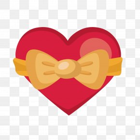 Red Heart-shaped Bandage - Heart Red Sticker PNG