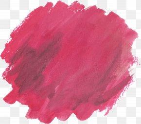 Watercolor Red Graffiti Brush - Brush Watercolor Painting Euclidean Vector PNG