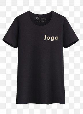 Black T-shirt Vi Show - T-shirt Neckline Crew Neck Collar PNG