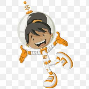 Black Female Astronaut - Astronaut Woman Black Spaceflight PNG